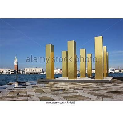 The Sky Over Nine Columns by artist Heinz Mack - Explore