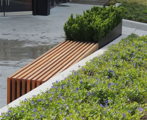 modern planter bench modern bench planter modern other metro by object outdoors site furnishings inc