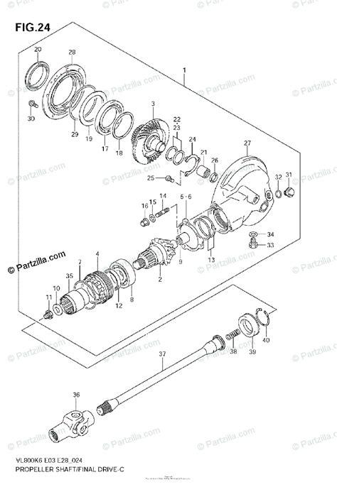 suzuki motorcycle  oem parts diagram  propeller