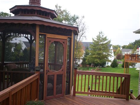 gazebo screen outdoor rooms expanding your st louis or st charles