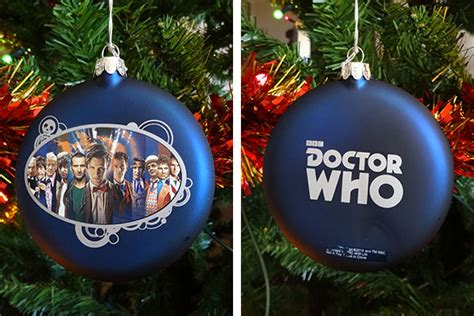 doctor who tree decorations a closer look merchandise
