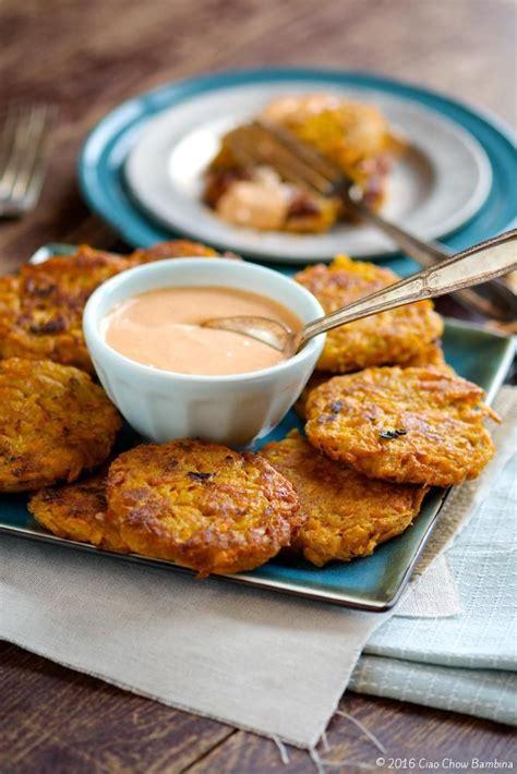 how to make sriracha mayo sweet potato fritters with sriracha mayo recipe powder