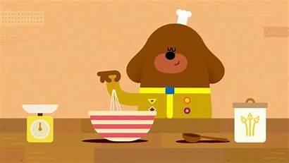 Duggee Hey Cooking Kitchen Chef Bake Dog