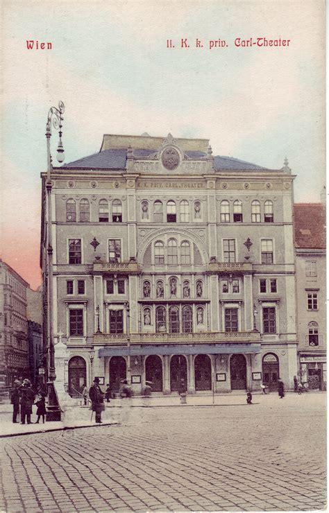 Willhaben Haus Kaufen Privat Wien by Leopoldstadt Das Carltheater Leopoldstadt