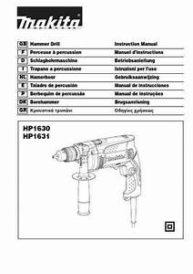 Makita Hp 1631 Tools Download Manual For Free Now