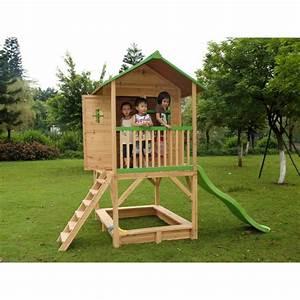 Maisonnette En Bois Sur Pilotis : cabane de jardin en bois sur pilotis fanny 3 achat ~ Dailycaller-alerts.com Idées de Décoration