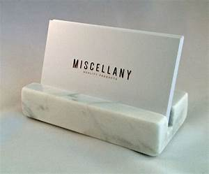 business card holder white carrara marble by miscellanyonline With marble business card holder