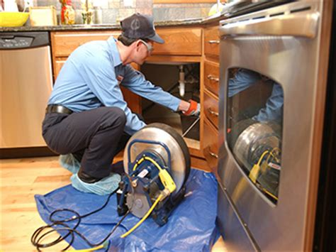 plumbing and drain service sewer inspection drain cleaning in denver 720 410 9954
