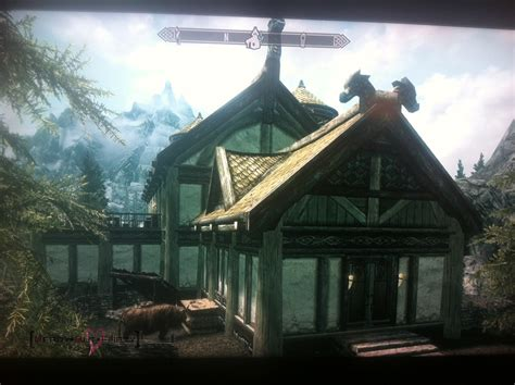 build house skyrim s hearthfire ignites my for home building