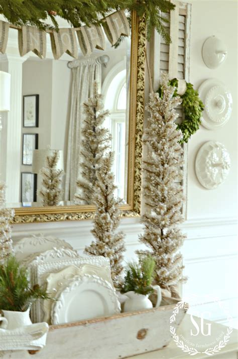 How To Fake A French Country Christmas Look Stonegable