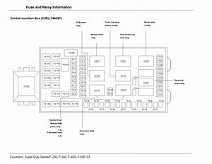 F350 Fuse Box Diagram 14a067