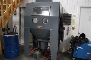 machine tool bids trinco 48x36 pc dry blast sand blaster