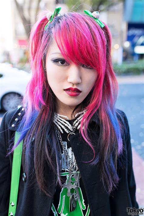 Dead Girl Lisa In Harajuku W Pink Purple Hair