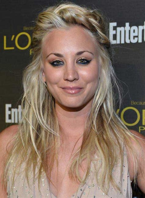 flawless kaley cuoco hairstyles  inspire