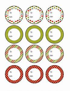 future domestic goddess free printables With circle gift tag template