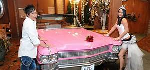 Elvis pink caddy lgbt wedding at viva las vegas weddings for Gay wedding packages las vegas