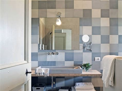 Bagni Stile Country 40 Idee Per Un Bagno E Bianco Design E Abbinamento