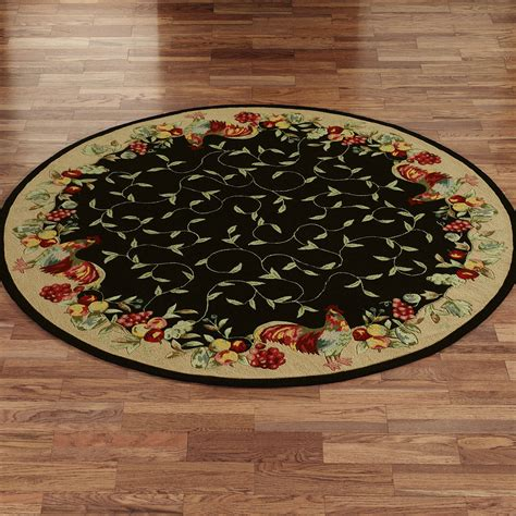 unique rooster kitchen rugs homesfeed