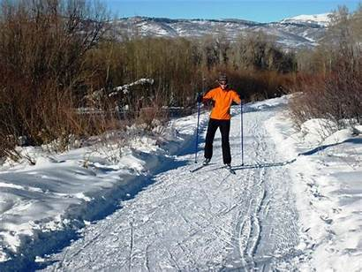 Ski Skiing Cross Country Trail Basin Snyderville