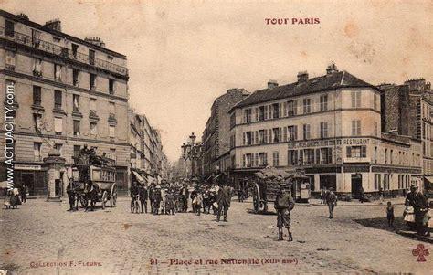 bureau de change place d italie cartes postales anciennes de 13e arrondissement