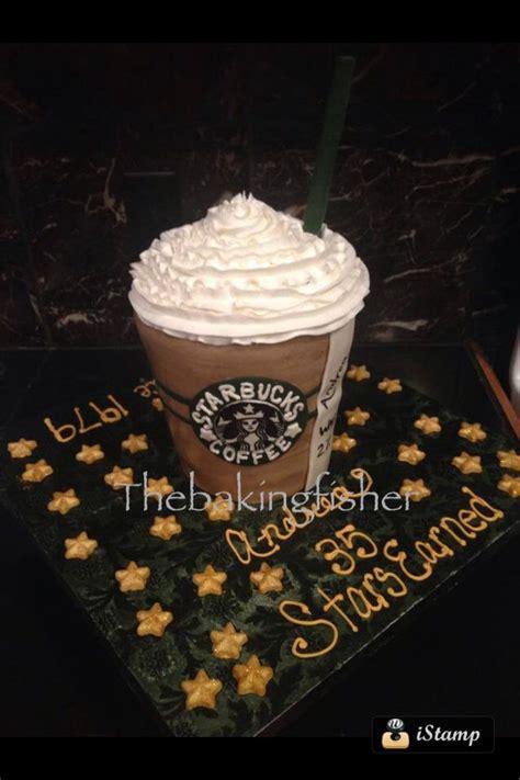 Get our mobile app today! Starbucks frapp fondant cake!