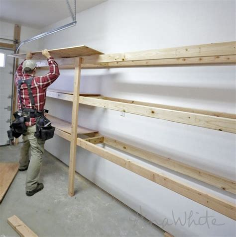 ana white build  easy  fast diy garage  basement