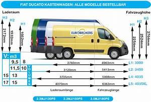 Fiat Ducato L4h2 Innenmaße : eurobrokers kastenwagen fiat ducato ~ Jslefanu.com Haus und Dekorationen