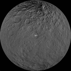 Ancient interior activity likely formed features on Ceres ...