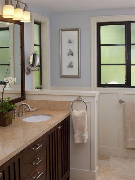 half wall ideas small bathroom half wall height idea master bathroom make over ideas pinterest traditional