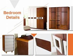 Modern wood double bed designs with box, View wood double ...