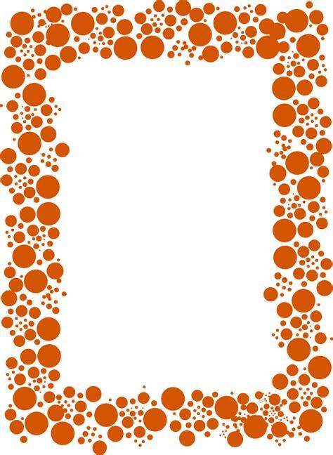 http focaclipart net23 net marcos y bordes marco puntos naranja png marcos y bordes