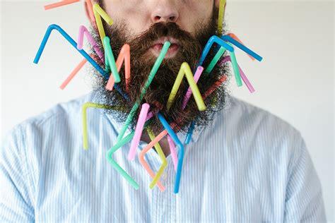 beard man puts random    beard