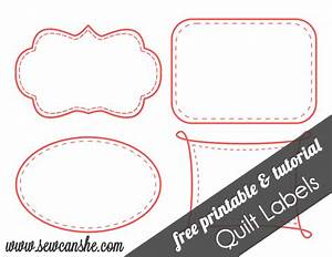 quilt labels free printable sewcanshe free daily With free online label design and print