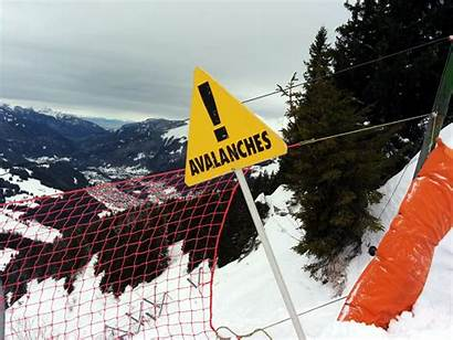 Avalanche Warning Science Sign Easy Snowy Facts