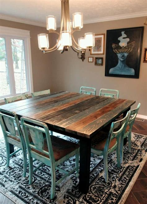 teal kitchen table 25 best ideas about teal table on country