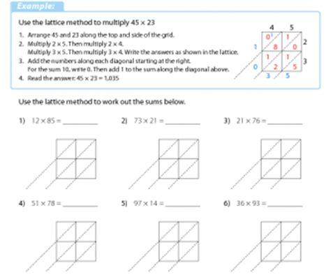Lattice Multiplication 3