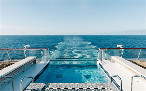 house plans with swimming pools 12 cruise ships with pools travel leisure