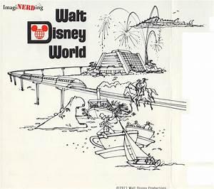 1971 Walt Disney World brochure - ImagiNERDing