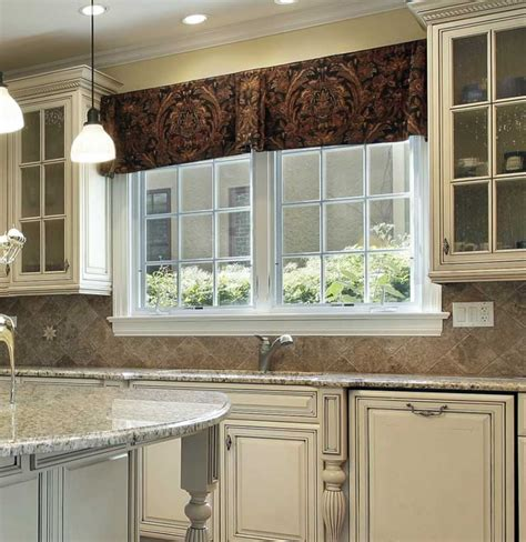 valance ideas  kitchen windows explained  detail