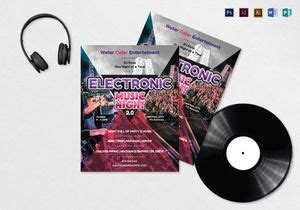 party flyer designs templates  word psd publisher