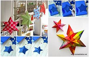 DIY Paper Art Projects - Learn How to Make 3D Paper Stars