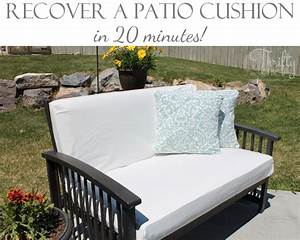thrifty and chic diy projects and home decor With recover lawn furniture cushions