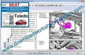 Wiring Manual Diagram Seat Toledo