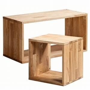 Cube Bois Rangement : cubes de rangement am pm la redoute marie claire maison ~ Edinachiropracticcenter.com Idées de Décoration