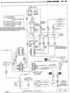 Jeep Cherokee Overhead Console Wiring Diagram