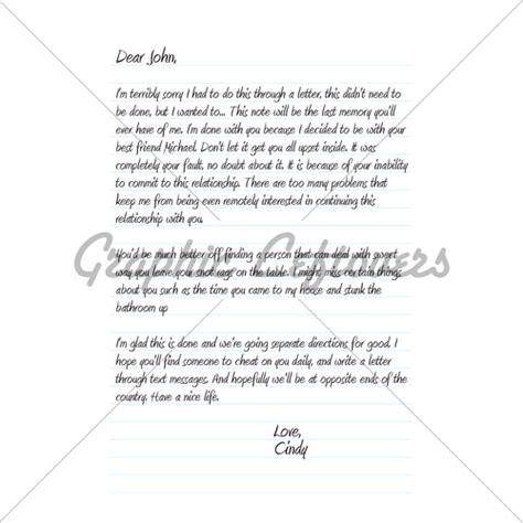 dear john letter gl stock images