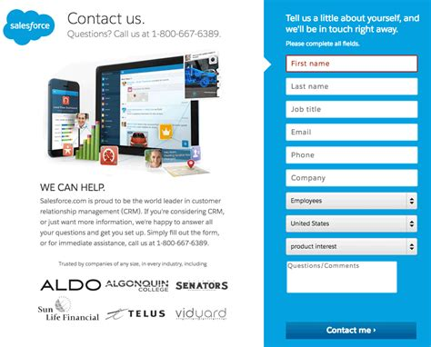 Examples The Best Landing Page Designs