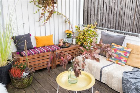 Herbstdeko Für Balkon by Herbstdeko Auf Dem Balkon Leelah