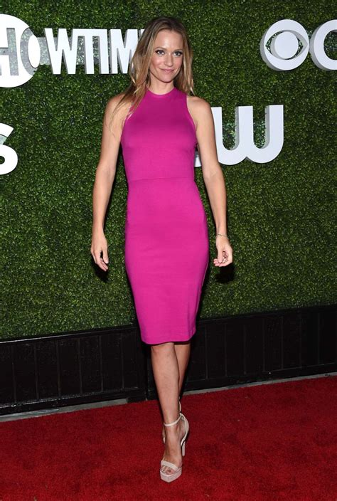 A.J. COOK at CBS, CW and Showtime 2016 TCA Summer Press Tour Party in Westwood 08/10 ...
