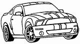 Mustang Coloring Ford Pages Shelby Gt Clipart Cobra Drawing Printable Cars Gt500 Fox Sports F250 Getdrawings Getcolorings Clipground Carscoloring 1965 sketch template